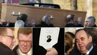 Gerry Raffery's funeral