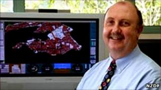 File picture of the former head of New Zealand's Defence Technology Agency, Stephen Wilce, courtesy of NZ Defence Force