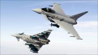Typhoon fighter