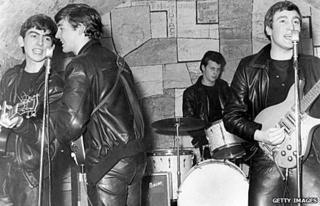 The Beatles at the Cavern in 1961