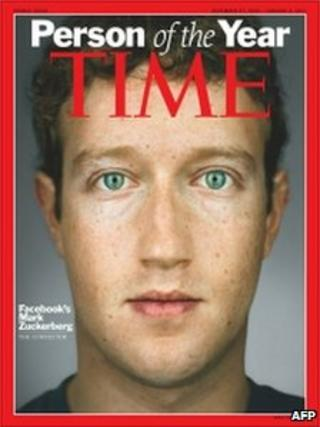 Mark Zuckerberg on Time magazine