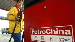 Attendant at PetroChina pump