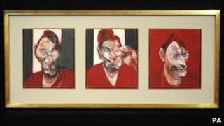 Francis Bacon's Three Studies For A Portrait Of Lucien Freud