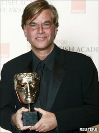 Aaron Sorkin at the Baftas