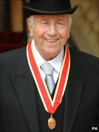 Sir George Shearing in 2007