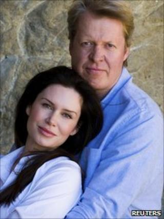 Earl Spencer and his fiancee Karen Gordon