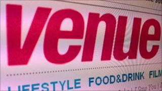 Venue magazine logo