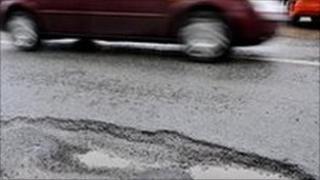 Pothole - generic image