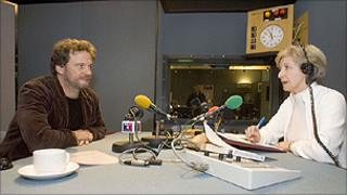 Colin Firth and Sue Lawley on Desert Island Discs