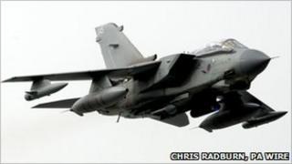 RAF Tornado from Marham