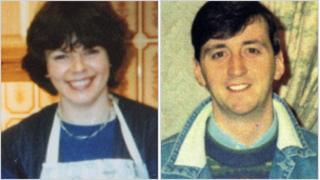 The bodies of Lesley Howell and Trevor Buchanan were found in a car