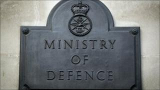 Ministry of Defence in Whitehall