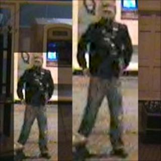 Enhanced images of Alan Wood murder suspect