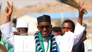 Nuhu Ribadu (image from 28 Feb 2011)