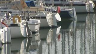 Boats in Poole Harbour