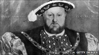 Henry VIII - From a painting by Holbein