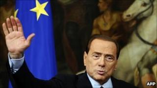 Italian PM Silvio Berlusconi (14 March 2011)