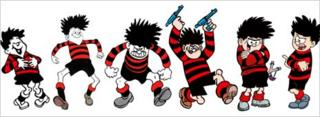 Dennis the Menace as he has evolved