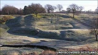 Antonine Wall - Undiscovered Scotland