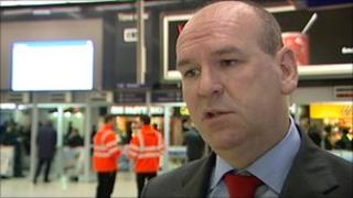 Mick Whelan from Aslef train drivers' union