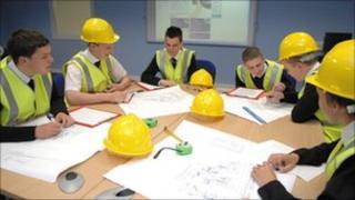 construction lesson, Fyndoune Community College
