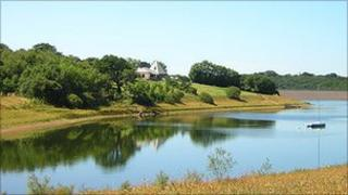 Generic photo of Roadford Reservoir in Devon Pic: Geoff Bonnell