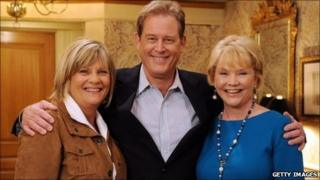 Kim Zimmer, Brian Kerwin and Erika Slezak from One Life to Live