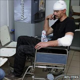 Man injured in village clash, 27 Apr 11