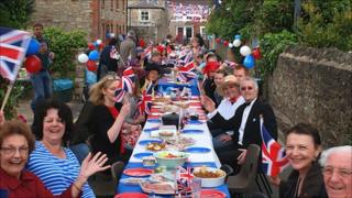 South Street, Swindon, royal wedding street party