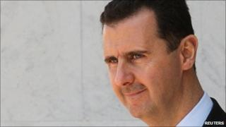 Syrian President Bashar al-Assad - 22 March 2009