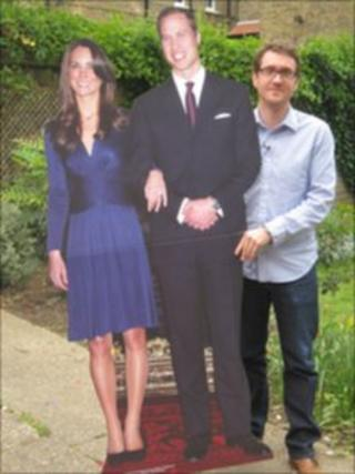 Pete, Wills and Catherine