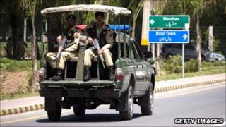 Soldiers in Pakistan