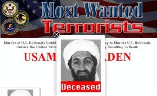 FBI's Most Wanted website (2 May 2011)