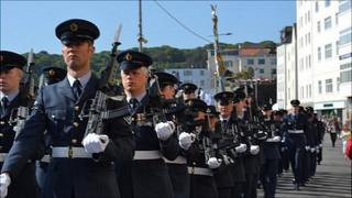 Guernsey's Own 201 Squadron's final parade