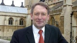 Mayor of Leicester, Sir Peter Soulsby