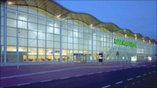 Robin Hood Airport in Doncaster