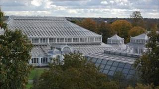The Temperate House at The Royal Botanic Gardens, Kew