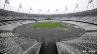 Olympic stadium in London