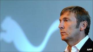 Puma chief executive Jochen Zeitz
