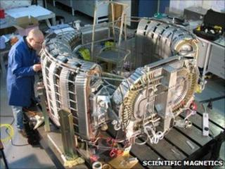 Superconducting magnet (Scientific Magnetics)