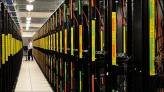 Rackspace data centre