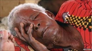 Ivory Coast refugee in Duekoue (18/05/11)