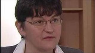 Enterprise Minister Arlene Foster