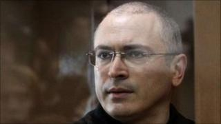 Mikhail Khodorkovsky in court in Moscow, 17 May