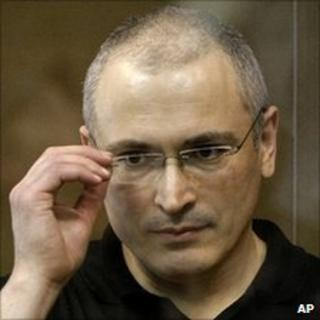 Mikhail Khodorkovsky in court in Moscow, 24 May 11