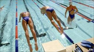 British Olympic swimmers