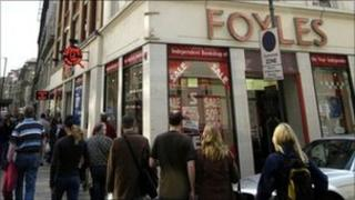 Foyles bookshop, Charing Cross Road, London