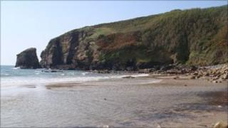 Praa Sands in west Cornwall Pic: Stephen Folmer