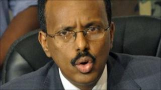 Mohamed Abdullahi Farmajo, file pic