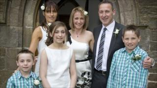 Kate Allatt and family